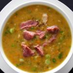 Простой рецепт горохового супа