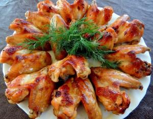 Куриные-крылышки