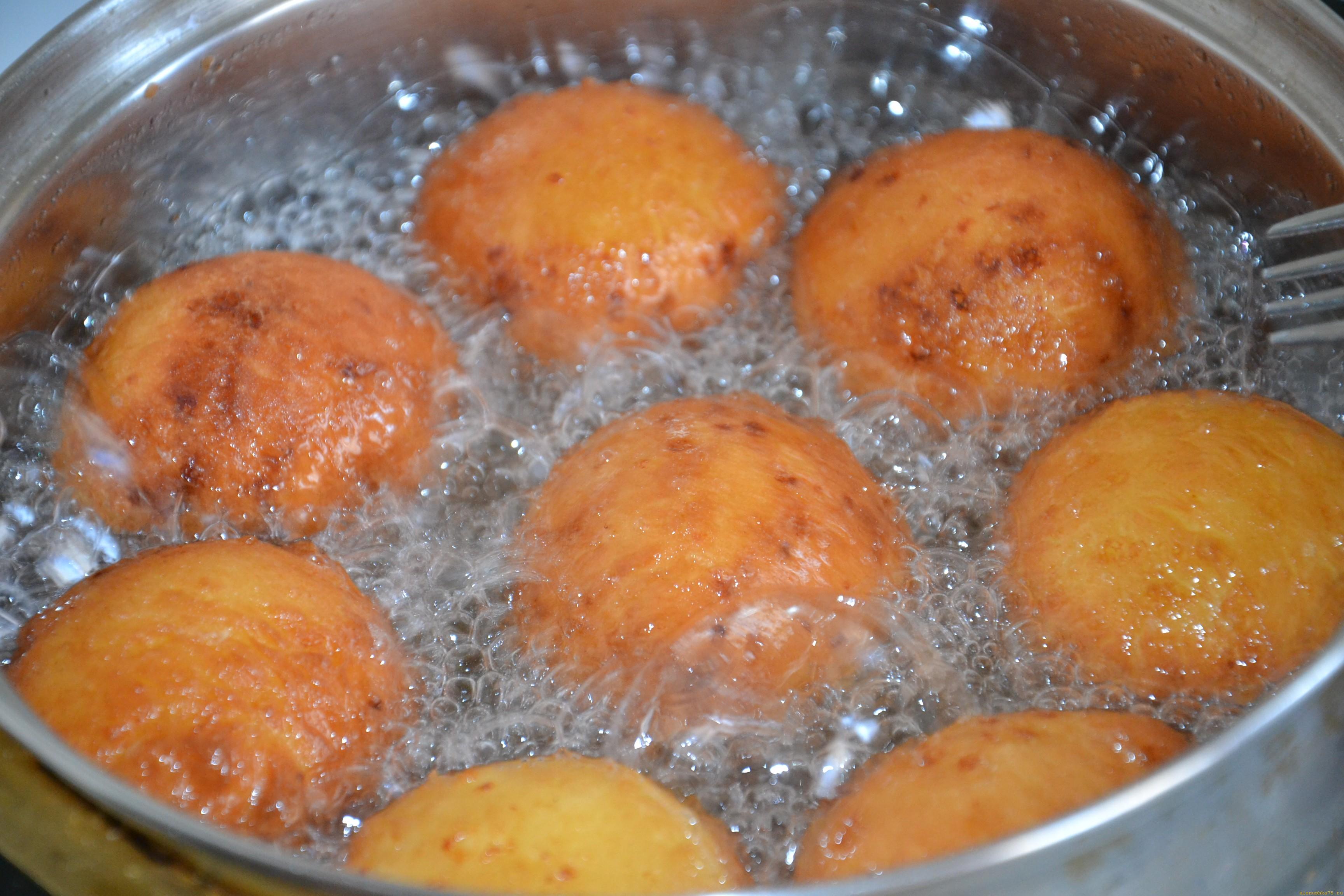 приготовление пончиков рецепт с фото