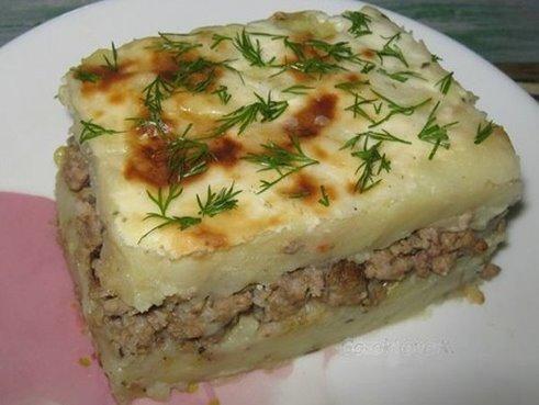 Запеканки из картофеля с фаршем рецепты 181