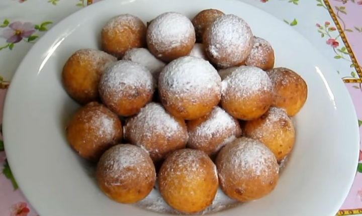 Пошаговый рецепт вкусных пончиков 55