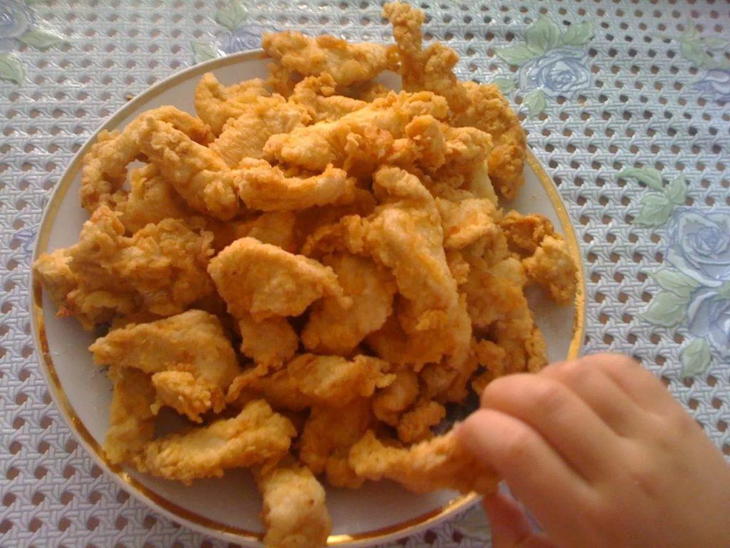Наггетсы куриные рецепт в домашних условиях рецепт с пошагово