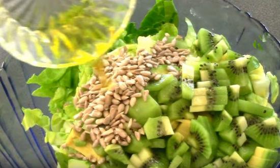 салат из авокадао