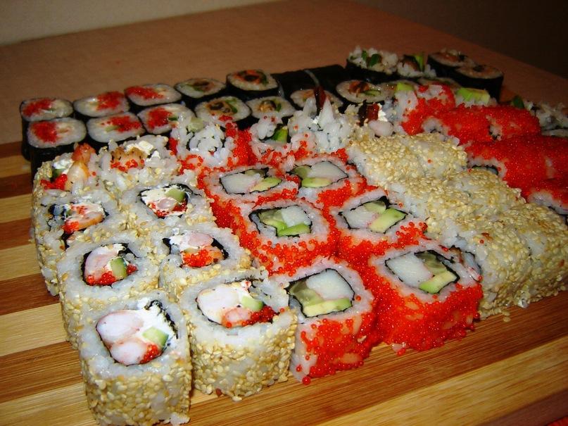Домашний рецепт суши роллы в домашних условиях 278