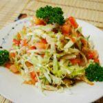 салат из свежей капусты простой рецепт