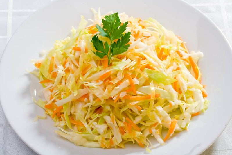 салаты с свежей капусты