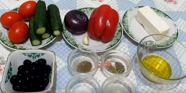 Рецепты греческого салата простые