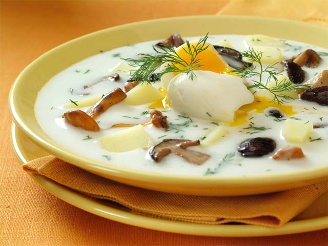 суп из лесных грибов замороженных рецепт с фото