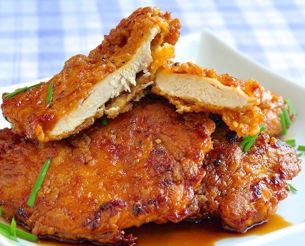 Отбивные из куриного филе в кляре на сковороде рецепт с майонезом