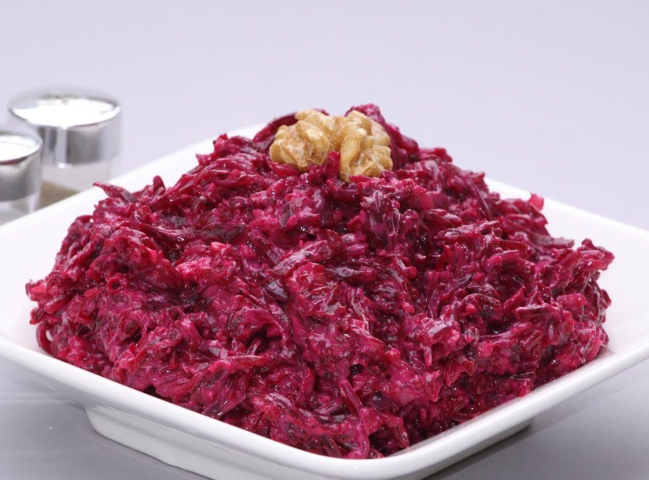 салаты из свеклы простые и вкусные