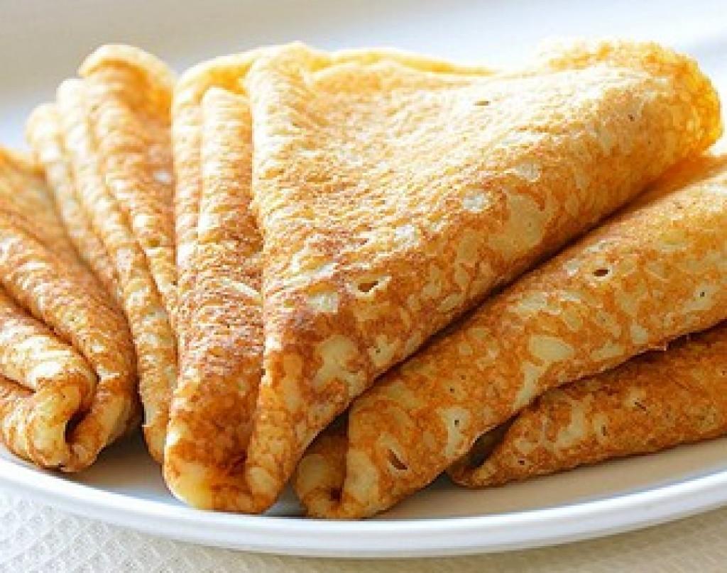 Тесто на блины 3 простых рецепта вкусных блинчиков