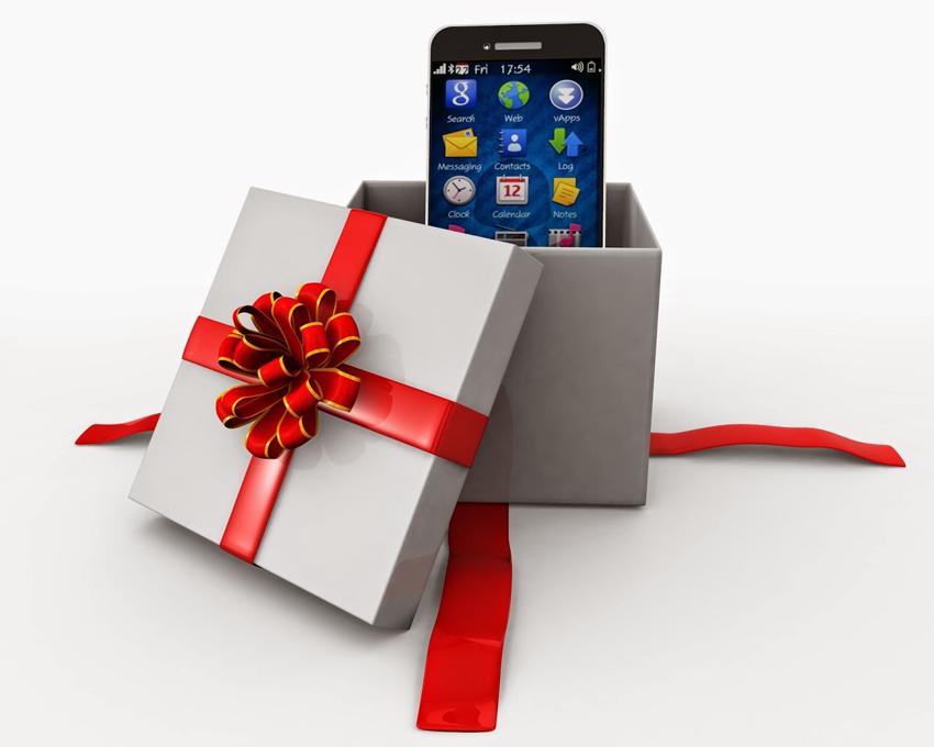 Как упаковать телефон для подарка 184