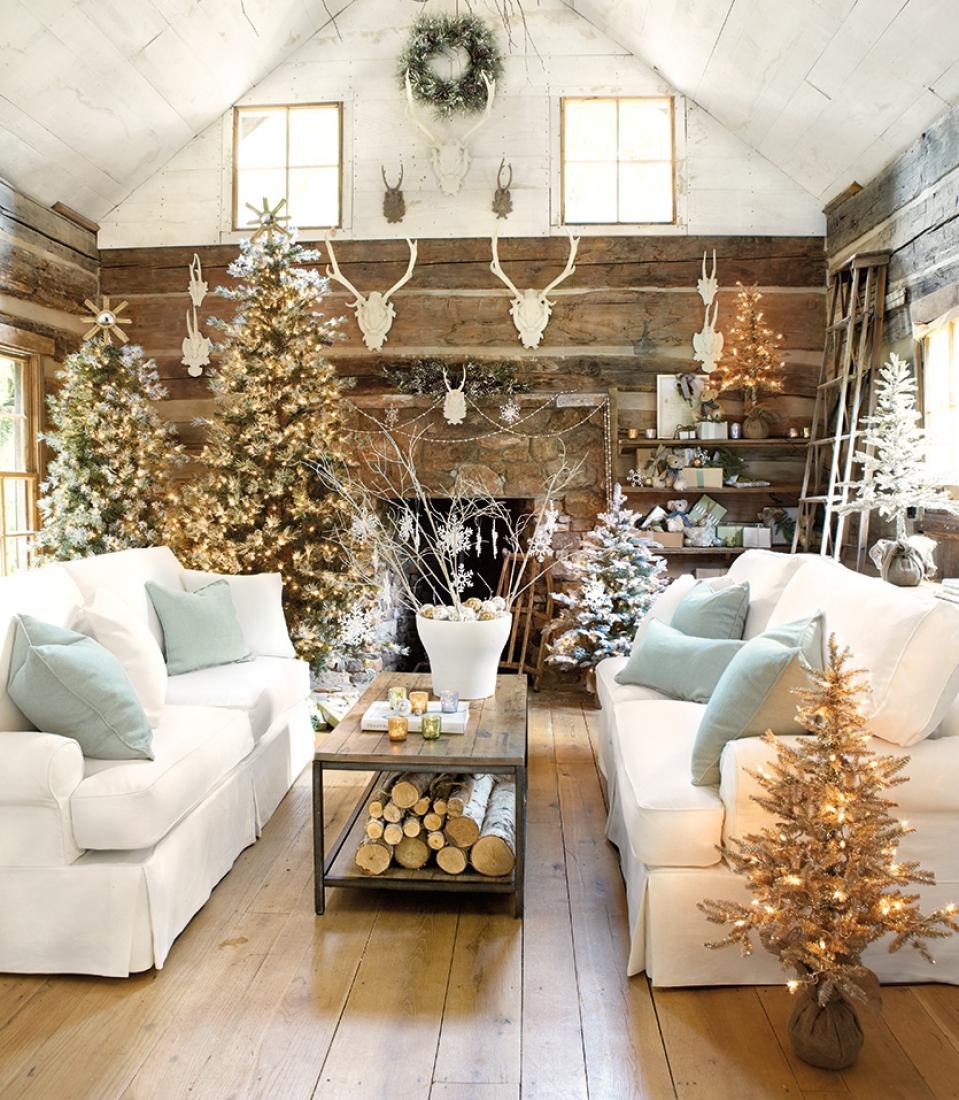 23 великолепные идеи украшения лестницы к рождеству
